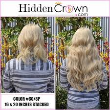 can you get long extensions with a stacked hair cut we completely encourage stacking hidden crown hair extensions