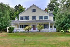 country farmhouse wrap around porch home design ideas