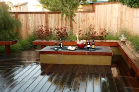 covered fire pit landscape eclectic with firepit ipe deck outdoor