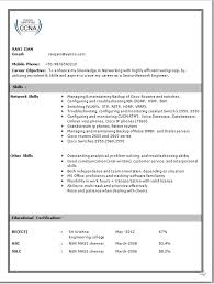 Sample Resumes For Freshers by Download Cisco Network Engineer Sample Resume