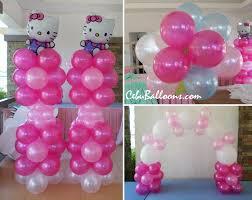 sanrio u0027s hello kitty balloon setup at mactan tropics for a