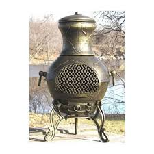 Blue Rooster Chiminea Review The Blue Rooster Etruscna Style Cast Aluminum Wood Burning