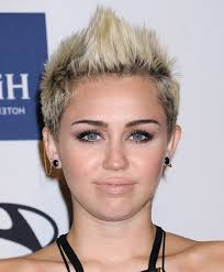 whats the name of the haircut miley cyrus usto have punky futuristic quiff cool short spiked haircut for women from