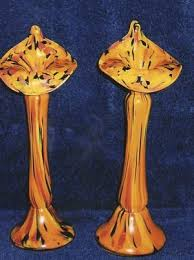 Jack In The Pulpit Vases Treasures Do These Glass Vases Have A History The Seattle Times