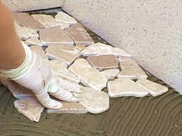 Shower Tile Installation Shower Installation Stratastones Pebble Tile