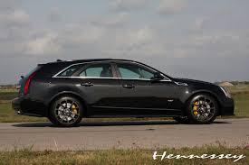 hennessey cadillac cts v wagon 2011 cadilac cts v black edition v700 sport wagon by