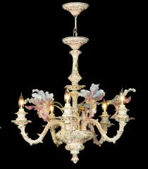 Italian Porcelain Chandelier Capodimonte Made In Italy Home