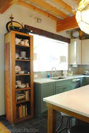 kitchen style black granite countertop stainless steel gas range