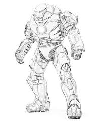 baby iron man coloring pages