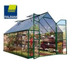 Greenhouse 8x8 Palram Balance Hobby Greenhouse Green U2013 Effective Greenhouses