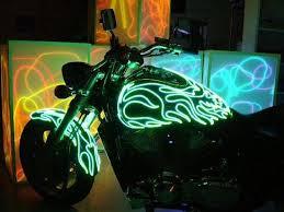 el wire lite up the nite got glow l e d s el wire laser