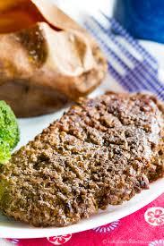 worcestershire sauce cast iron cube steaks cupcakes u0026 kale chips