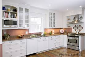 Red Kitchen Backsplash by Best 25 Beadboard Backsplash Ideas On Pinterest Farmhouse