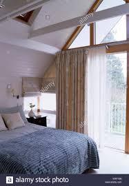 Loft Modern Modern Loft Conversion Bedroom Stock Photo Royalty Free Image
