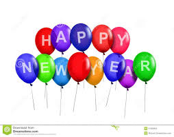 happy new year balloon happy new year party balloons stock images image 31926964