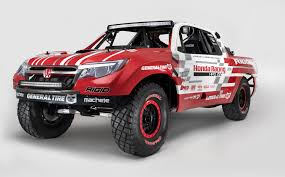 mazda truck 2015 2017 honda ridgeline previewed at sema by desert race truck