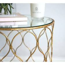 vintage gold side table side table antique gold side table finish round accent antique