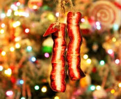 decorate bacon in the oven