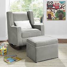 Gliders Rockers Amazon Com Baby Relax Abby Rocker Gray Color One Color Baby