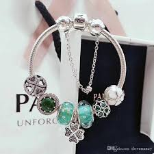 pandora charm bracelet jewelry images 2018 pandora charm bracelets lucky clover sterling silver 925 jpg