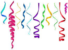 birthday ribbon curly ribbons png transparent clip image gallery
