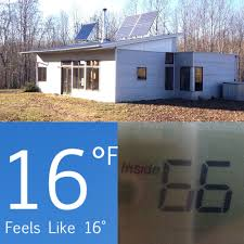 Sip House Sip Passive Solar House Kit In Winter Performs Without Heat