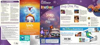 Port Orleans Riverside Map Updated Downtown Disney Map Includes New Stores