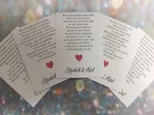 wedding gift poems honeymoon money poems cards invitations ebay
