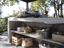 cuisine exterieure beton plan de travail exterieur cuisine d t fashion designs beton lzzy co