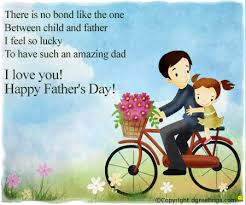 father and child enjoy e greeting cards from dgreetings com