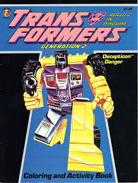 random toy reviews transformers generation 2