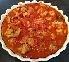 cuisiner un sauté de porc sauté de porc façon marengo valvanille recette cuisine companion