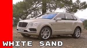 white sand 2017 bentley bentayga test drive interior design