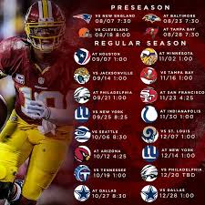 best 25 redskins football schedule ideas on redskins