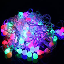 christmas lights outdoor font 10m 100 led balls globes fairy led string light bulbs multicolor