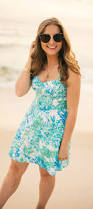 lilly pulitzer rosemarie and willow dress florida fashion