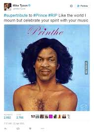Old Boxer Meme - mike tyson shares printhe meme that features mash up of prince