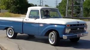 Ford Old Pickup Truck - 1966 ford 100 twin i beam classic pickup truck youtube