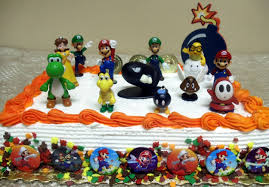 mario cake toppers mario brothers birthday party 22 mario birthday
