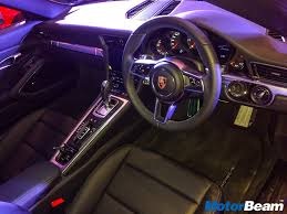 porsche 911 dashboard 2016 porsche 911 launched priced from rs 1 39 crores live