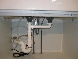 Under Kitchen Sink Plumbing - Kitchen sink drain pipe