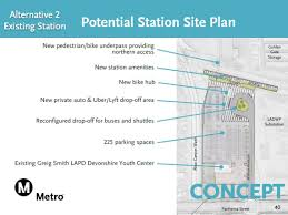 Inland Homes Devonshire Floor Plan by Metro Considers New Location For Northridge Commuter Rail Stop