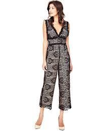 guess jumpsuit guess jumpsuits womens black guess guess sale uk w72b08r5yh0