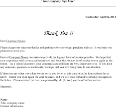 business thank you letter for free tidyform