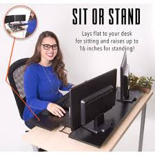 Standing And Sitting Desk by X Elite Pro Xl 36 U201d Sit Stand Standing Desk Converter Stand Steady