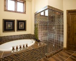 brown tile bathroom gray tile floor with white best brown tile bathroom paint home