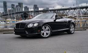 black bentley convertible 2013 bentley continental gt v8 convertible lotus vancouver