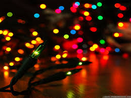 Colored Christmas Lights by Christmas Lights Desktop Wallpaper Wallpapers Browse