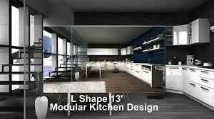 l shaped modular kitchen designs modular kitchens design by krios kitchens youtube