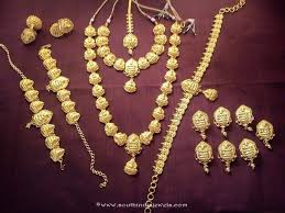 bridal indian necklace set images Nagas bridal jewellery set south india jewels jpg